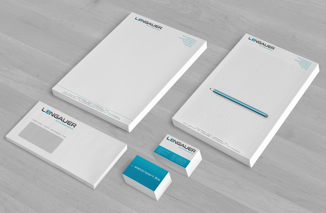 Umsetzung neues Corporate Design