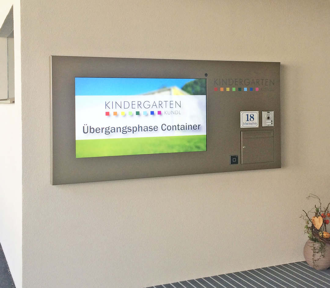 Infoscreens mit Digital Signage